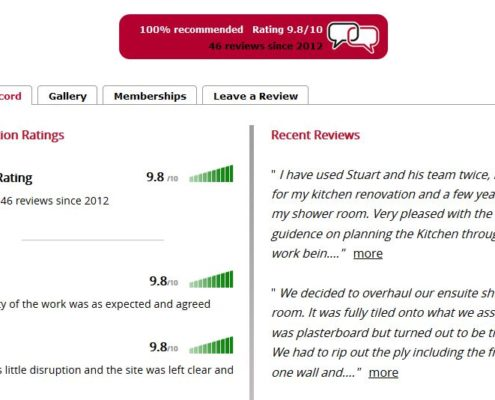 Reference Line Reviews